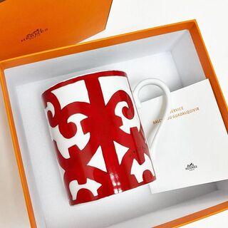 エルメス(Hermes)の新品 エルメス HERMES ガダルキヴィール マグカップ 純正箱付き 1個(グラス/カップ)