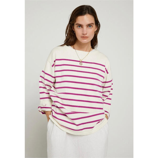 シールームリン(SeaRoomlynn)のニットトップス(Tシャツ/カットソー(半袖/袖なし))