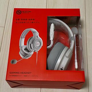 エレコム(ELECOM)のyuzu様専用 ゲーミングヘッドセット ELECOM HS-G60WH(ヘッドフォン/イヤフォン)