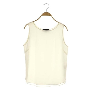 アンタイトル(UNTITLED)のアンタイトル  ノースリーブカットソー ブラウス プルオーバー 2 白 ホワイト(シャツ/ブラウス(半袖/袖なし))