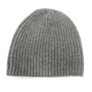 ドゥーズィエムクラス(DEUXIEME CLASSE)のドゥーズィエムクラス 帽子 ニット帽 ニットキャップ ウール カシミヤ グレー(その他)