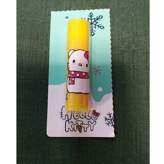 ハローキティ(ハローキティ)の完全密封 新品未使用 ハローキティ プリンの香り リップクリーム(リップケア/リップクリーム)