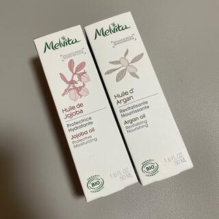 Melvita - メルヴィータ アルガンオイル ホホバオイルセット