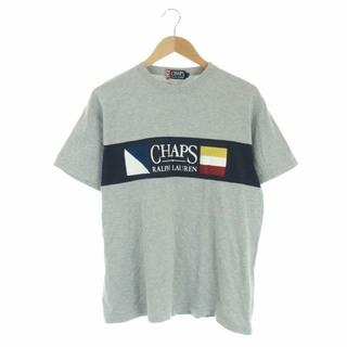 ラルフローレン(Ralph Lauren)のラルフローレン RALPH LAUREN Tシャツ L グレー マルチカラー(Tシャツ/カットソー(半袖/袖なし))
