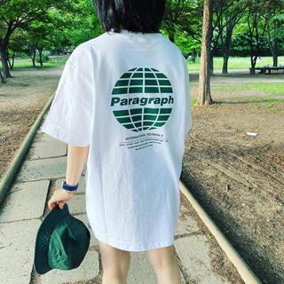 SALE‼️ paragraph 正規品 タグ付きクラシックカラー ユニセックス(Tシャツ/カットソー(半袖/袖なし))