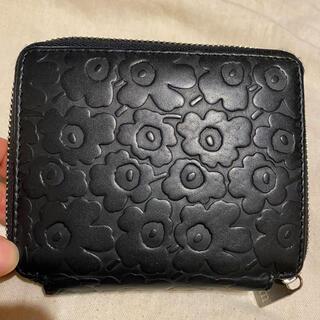 マリメッコ(marimekko)のマリメッコ  財布  黒 ブラック(財布)