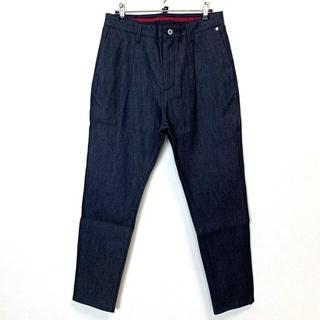 ナノユニバース(nano・universe)の【美品】nano universeナノユニバース ジャパンメイドテーパードスラッ(スラックス)