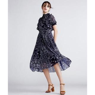 ダブルスタンダードクロージング(DOUBLE STANDARD CLOTHING)のSov. / garden original 小花柄ワンピース(ロングワンピース/マキシワンピース)