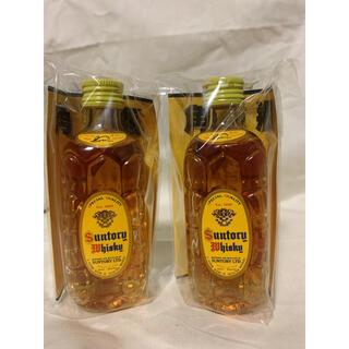 サントリー(サントリー)のサントリー 角瓶 ミニボトル ミニチュア 2本セット ウイスキー 未開封(ウイスキー)