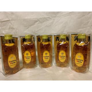 サントリー(サントリー)のサントリー 角瓶 ミニボトル ミニチュア 5本セット ウイスキー 未開封(ウイスキー)