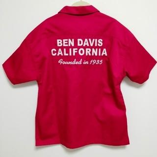 ベンデイビス(BEN DAVIS)の【美品】ベンデイビス BEN DAVIS ワークシャツ ハーフジップ 半袖 (シャツ)