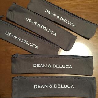 【DEAN&DELUCA】新品未使用 五個 カトラリーポーチ ペンケース(弁当用品)