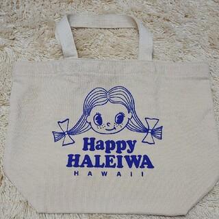 ハレイワ(HALEIWA)のHAPPY HALEIA HAWAII キャンバストート ぷち エコバッグ(エコバッグ)
