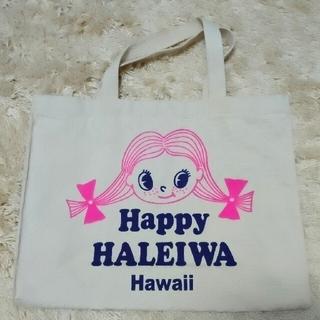 ハレイワ(HALEIWA)のHAPPY HALEIA HAWAII キャンバストートバッグ(トートバッグ)