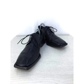 Balenciaga - BALENCIAGA(バレンシアガ) スクエアトゥダービーシューズ メンズ 革靴