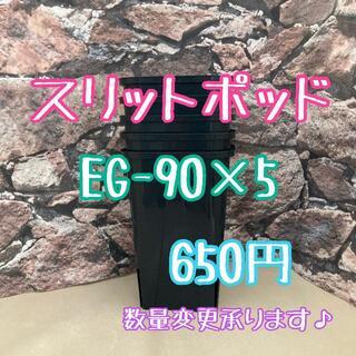 ◎5個◎ロング スリットポット EG-90L slitpot プラ鉢(プランター)