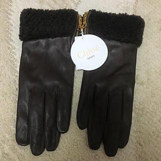 クロエ(Chloe)のShell様専用♡Chloe♡新品♡羊革♡グローブ(手袋)