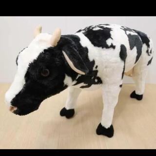 フランフラン(Francfranc)のアニマルスツール ! 牛柄 80キロ対応(スツール)