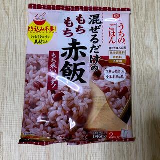 キッコーマン(キッコーマン)の混ぜご飯の素(赤飯)(レトルト食品)