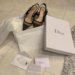 クリスチャンディオール(Christian Dior)の【週末限定値下げ】Dior J'adior スリングバック パンプス(ハイヒール/パンプス)