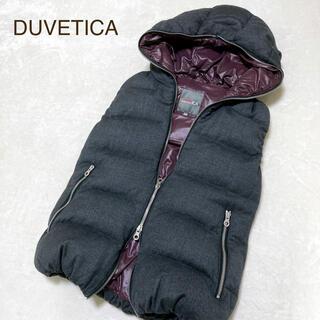 デュベティカ(DUVETICA)のDUVETICA デュベティカ ダウンベスト 38 ブルガリア製(ダウンベスト)
