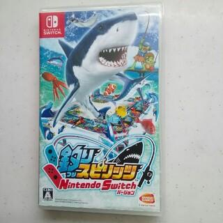 ニンテンドースイッチ(Nintendo Switch)の釣りスピリッツ switch 美品(家庭用ゲームソフト)