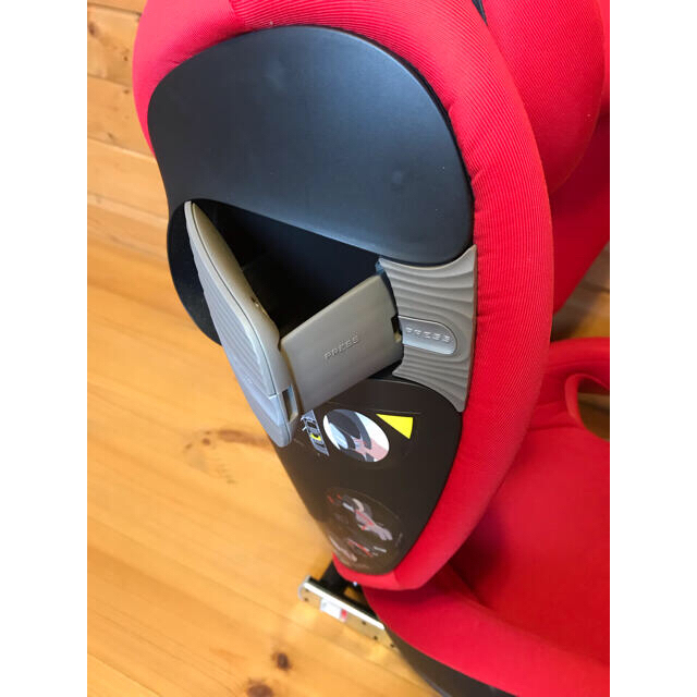 cybex(サイベックス)のcybex チャイルドシートS-fix ISOFIX 対応 ドリンクホルダー付き キッズ/ベビー/マタニティの外出/移動用品(自動車用チャイルドシート本体)の商品写真