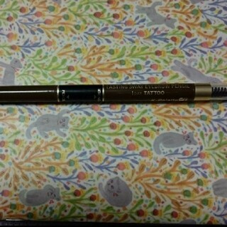 ケーパレット(K-Palette)のkパレット ラスティングスリーウェイアイブロウペンシル 02 ペンシルの残り(アイブロウペンシル)