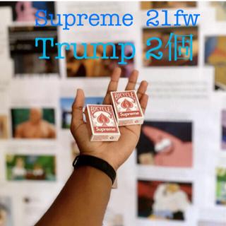 シュプリーム(Supreme)のSupreme 21fw ノベルティ トランプ 2個(トランプ/UNO)