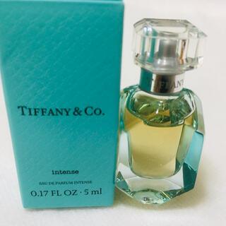 Tiffany & Co. - 新品 ティファニー オードパルファム インテンス 5ml ミニ香水 匿名配送
