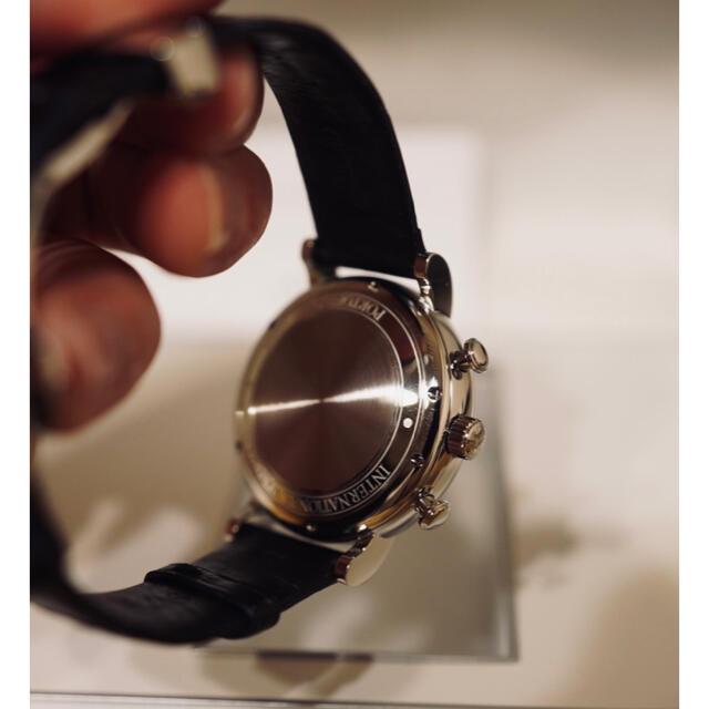 IWC(インターナショナルウォッチカンパニー)のIWC ポートフィノ 黒 クロノグラフ メンズの時計(腕時計(アナログ))の商品写真
