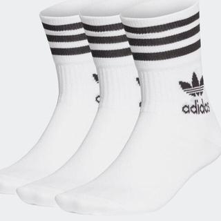adidas - ミッドカット クルーソックス 一足
