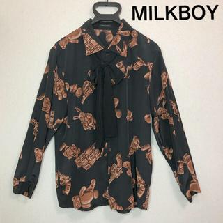 ミルクボーイ(MILKBOY)の【レア】MILKBOY ミルクボーイ CHOCO MURDER LONG シャツ(シャツ)
