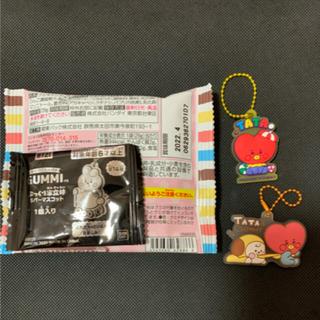バンダイ(BANDAI)のBTSグミ ラバーマスコット 3点(菓子/デザート)