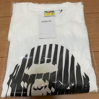 ソフ(SOPH)のSOPH.20 × A BATHING APE Tシャツ ホワイト XL(Tシャツ/カットソー(半袖/袖なし))