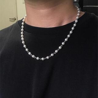キャピタル(KAPITAL)の即購入◎【日本製パーツにて製作】パールネックレス Pearl necklace(ネックレス)