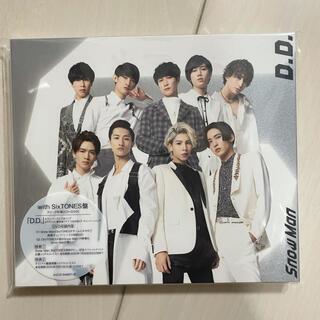 ジャニーズ(Johnny's)のD.D./Imitation Rain(with SixTONES盤)(ポップス/ロック(邦楽))