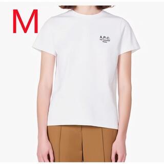 アーペーセー(A.P.C)の新品 ーペーセー A.P.C  Tシャツ ホワイト M(Tシャツ/カットソー(半袖/袖なし))