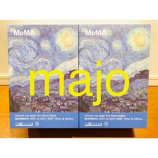 メディコムトイ(MEDICOM TOY)のBE@RBRICK Gogh Starry Night 100% 400% 2個(その他)