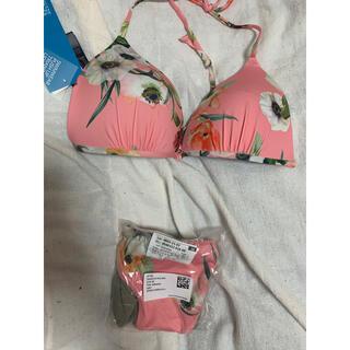 エイチアンドエム(H&M)のピンク 花柄 H&M ビキニ(水着)
