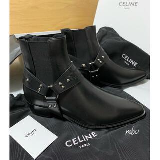セリーヌ(celine)の新品【 CELINE セリーヌ 】カマルグクノ チェルシーブーツ 41.5(ブーツ)