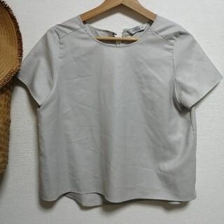 スーツカンパニー(THE SUIT COMPANY)のザスーツカンパニー destyle ライトブルーブラウス(シャツ/ブラウス(長袖/七分))