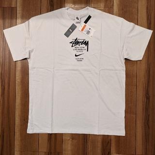 ステューシー(STUSSY)のSTUSSY NIKE INTERNATIONAL TEE WHITE L(Tシャツ/カットソー(半袖/袖なし))