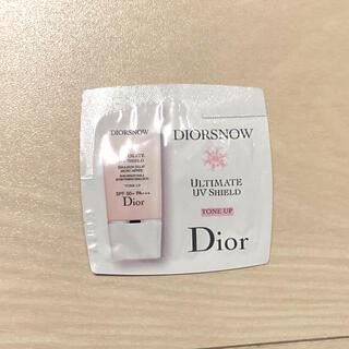 Dior - ディオール ディオールスノー スノーUVシールドトーンアップ50+ サンプル
