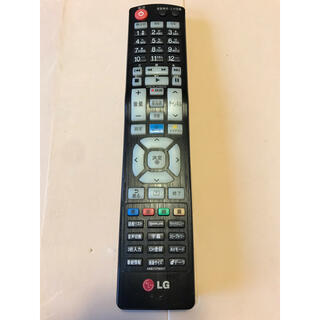 エルジーエレクトロニクス(LG Electronics)のLG 液晶テレビリモコン  AKB73756517  014(その他)