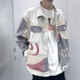 Kith スプライシング デニムジャケット(Gジャン/デニムジャケット)