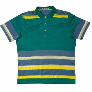 ランバン(LANVIN)の90's OLD LANVIN DESIGN COLOR POLO SHIRTS(ポロシャツ)