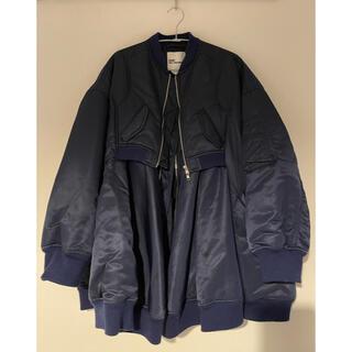コムデギャルソン(COMME des GARCONS)のnoir keininomiya MA-1ジャケット(ブルゾン)