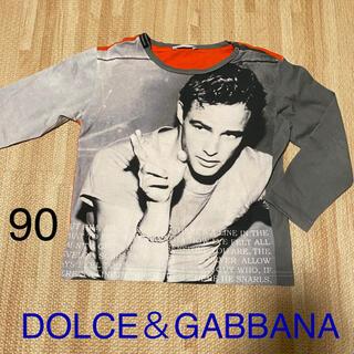 ドルチェアンドガッバーナ(DOLCE&GABBANA)のドルガバ 子ども服 ロンT(Tシャツ/カットソー)