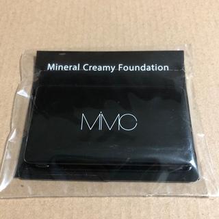 エムアイエムシー(MiMC)のmimc ミネラルクリーミーファンデーション 102 ニュートラル サンプル(ファンデーション)